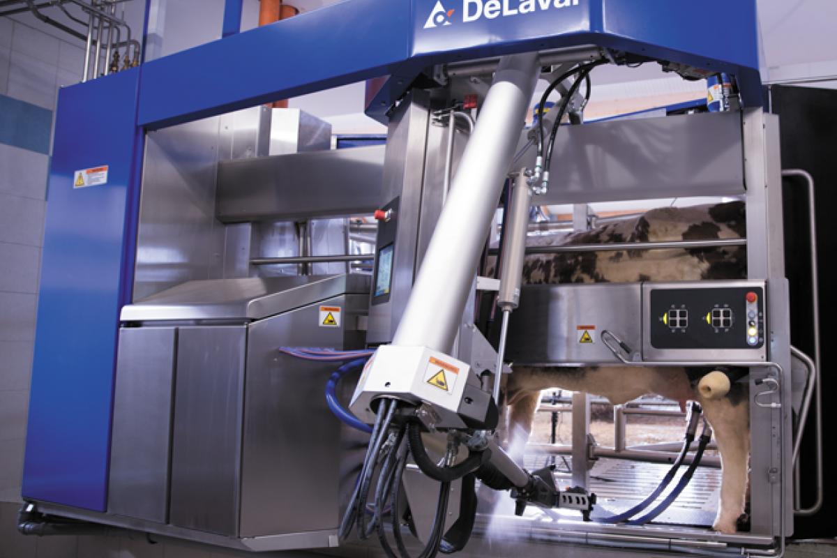De Laval melkrobot