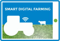 Logo smart digital farming