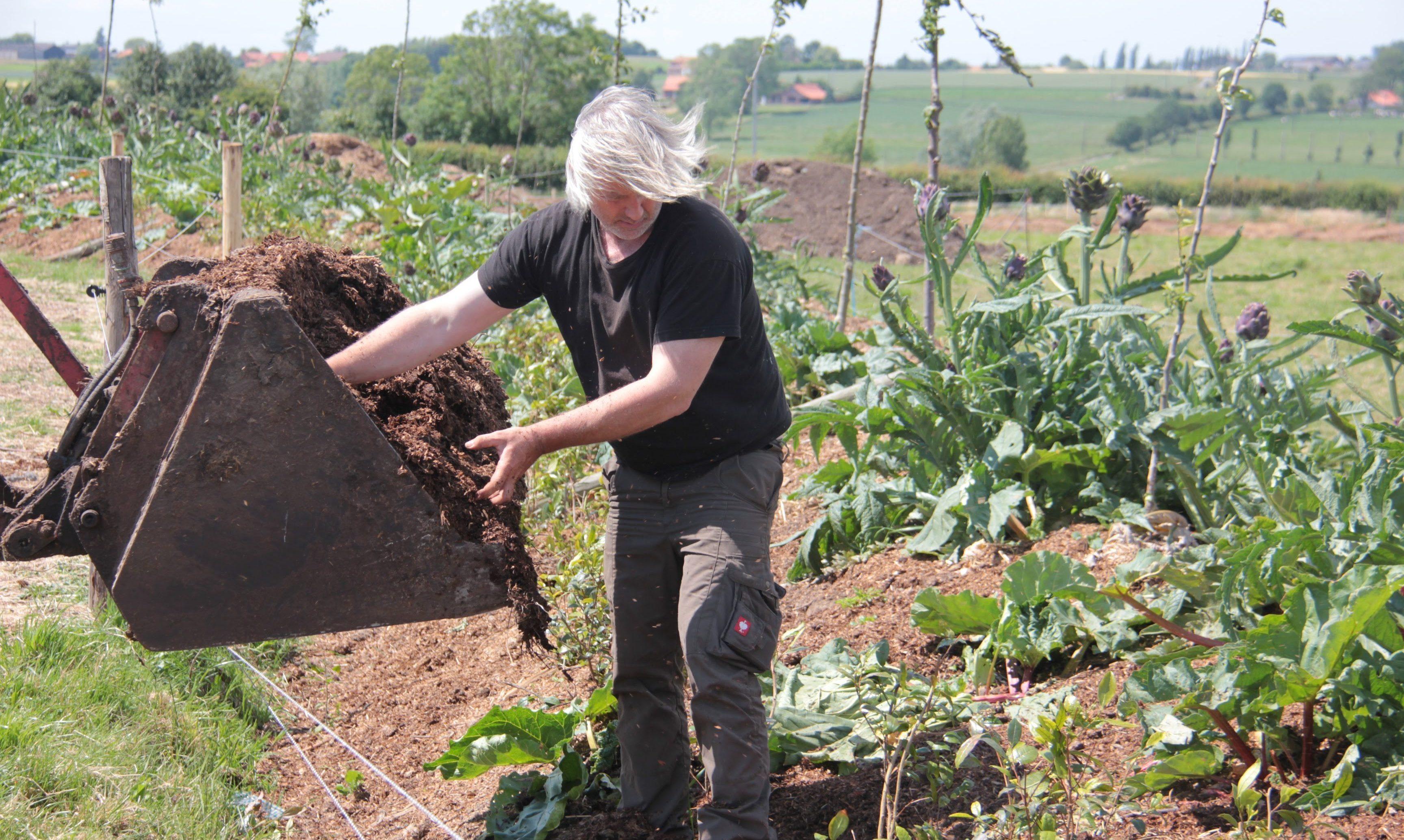 Rik Delhaye en contourboslandbouw