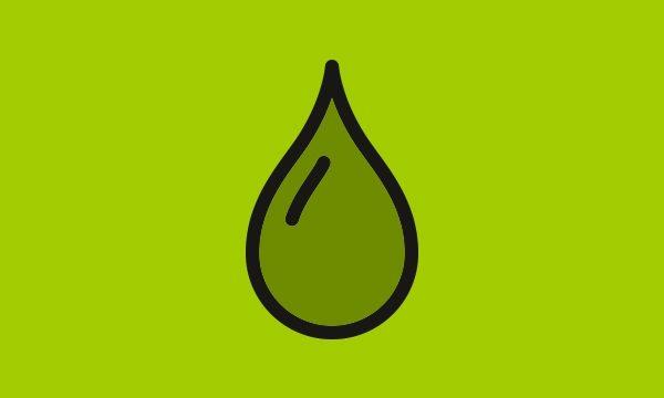 Icoon waterdruppel