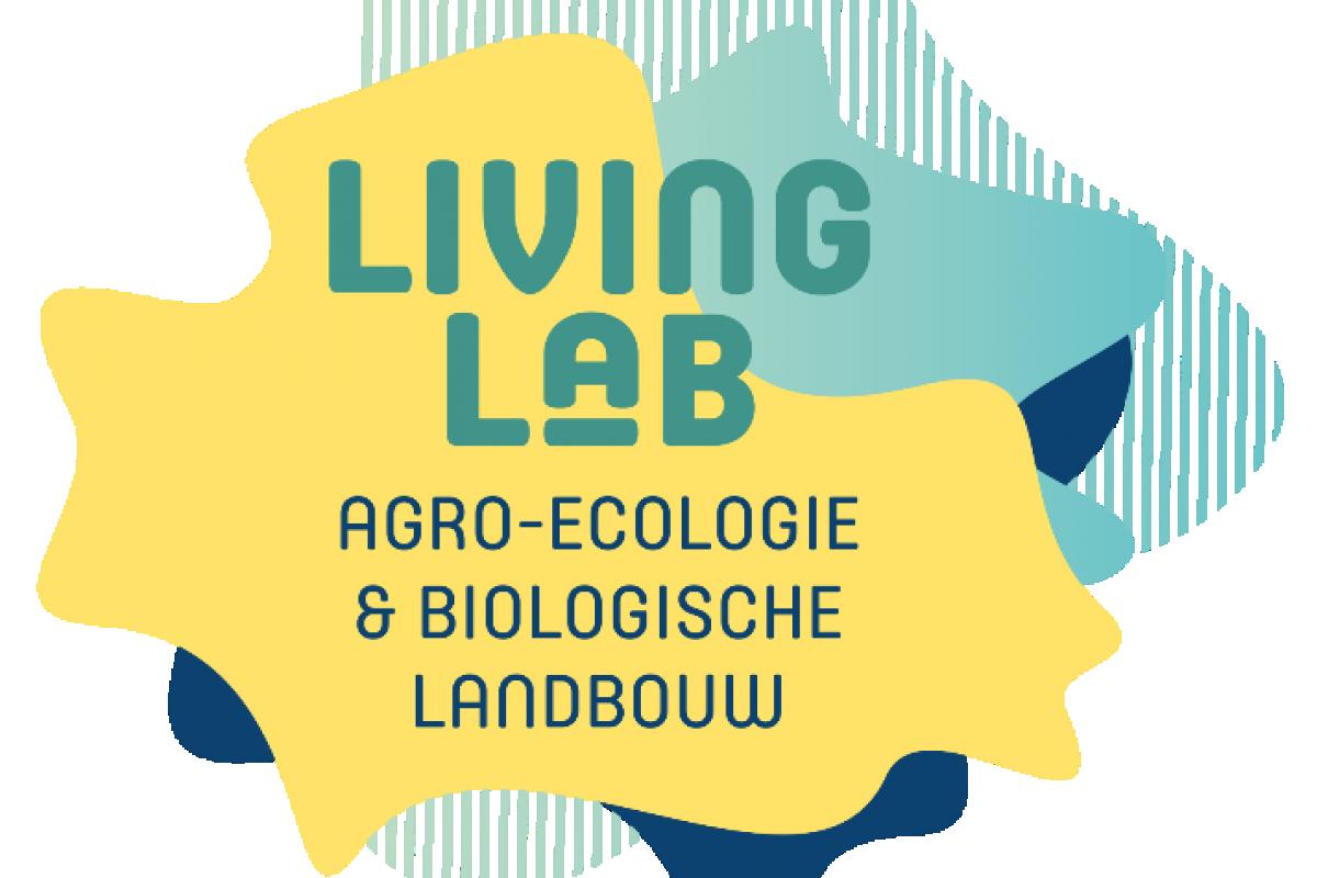 Logo living lab agro-ecologie & biologische landbouw