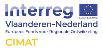 Logo Interreg Vlaanderen-Nederland Europees Fonds voor Regionale Ontwikkeling CIMAT
