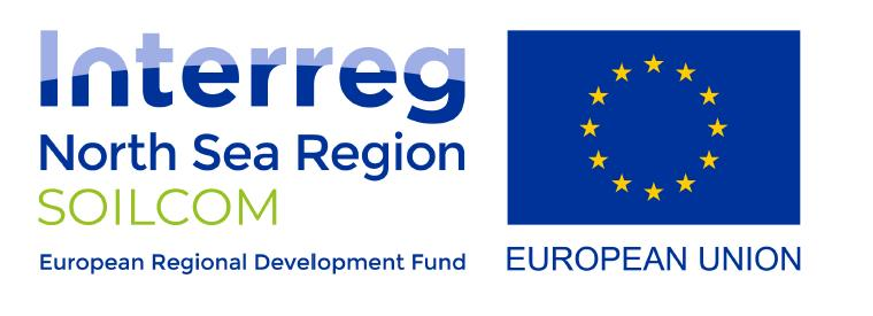 Logo Interreg North Sea Region SOILCOM