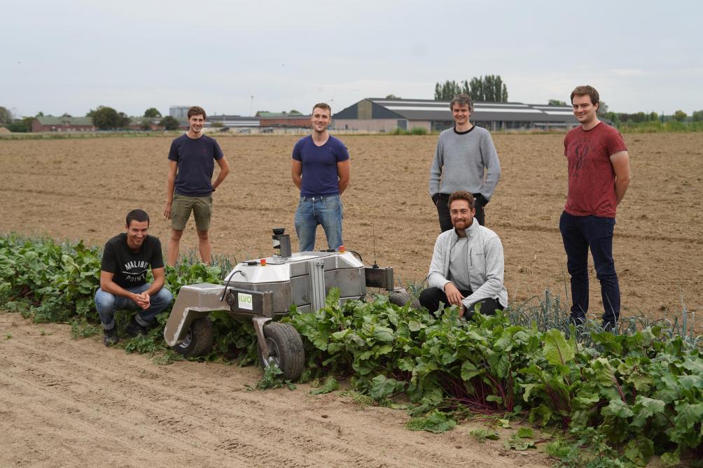 CSA robot: dialoog met de landbouwer
