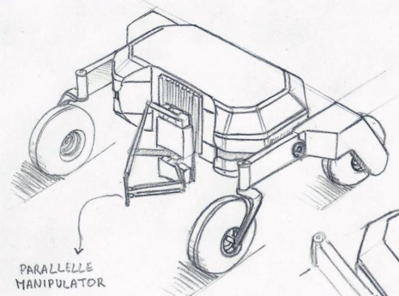 Mechanisch ontwerp van een BIOBot