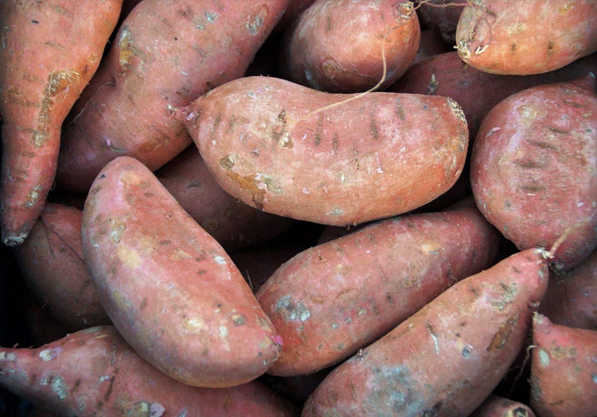 Bataat, zoete aardappel