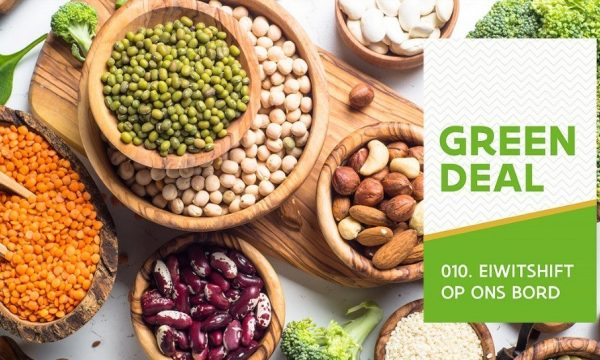 Green Deal logo with legumes and nuts