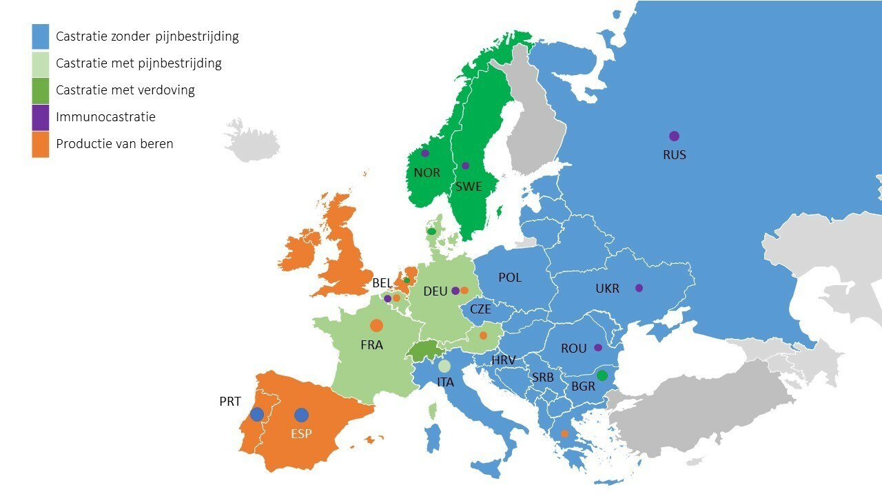 Castratiemethoden in Europa [Nl]