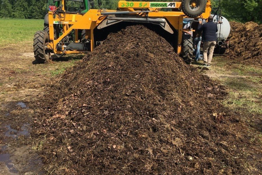 Compostril compostkeerder