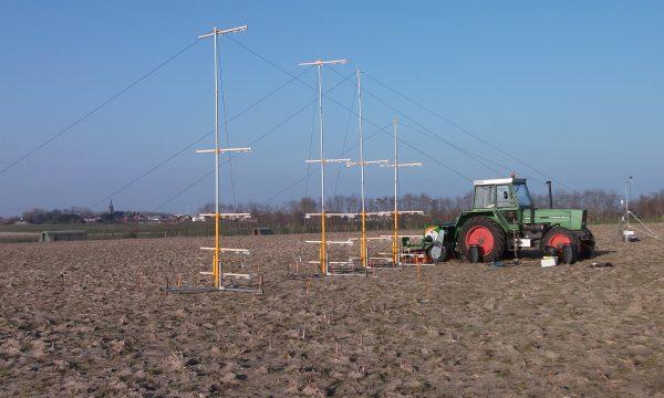 Field dust drift measurement