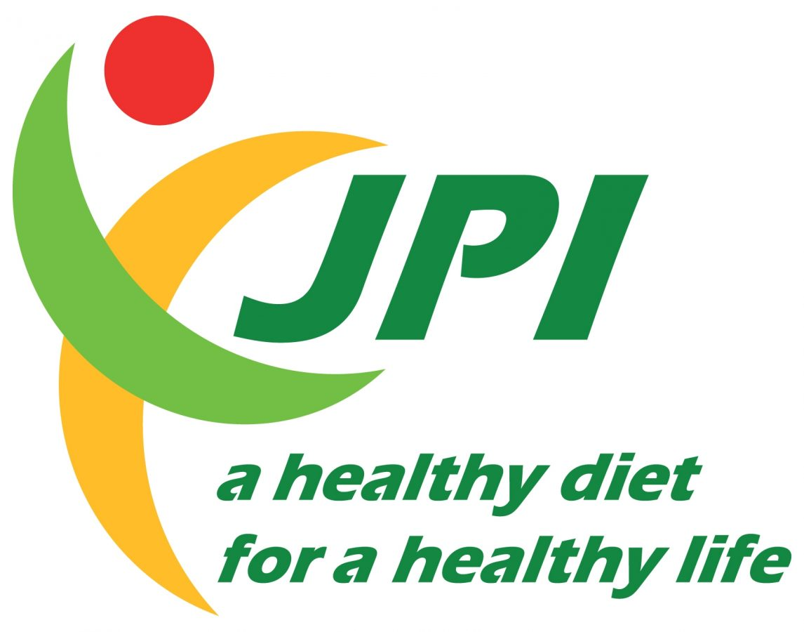 """JPI logo: """"A healthy diet for a healthy life"""""""