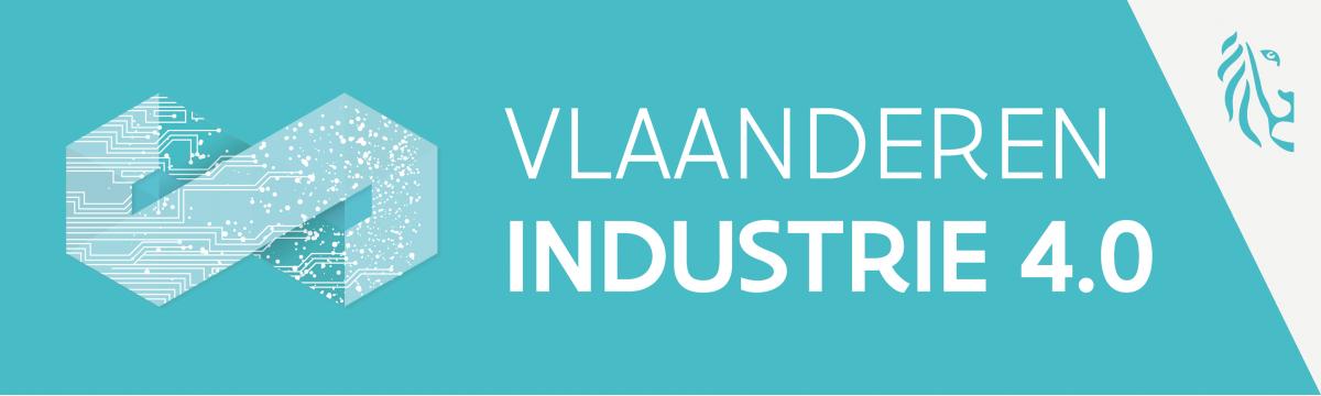 Vlaanderen Industrie 4 logo