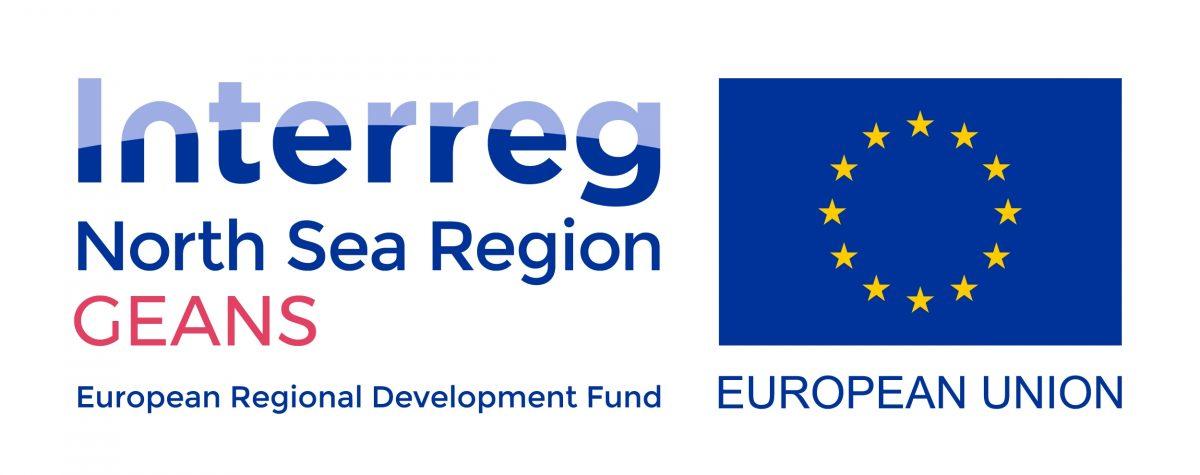 Logo GEANS - Interreg North Sea Region - Europe