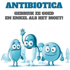 Antibiotics use them well and only if necessary