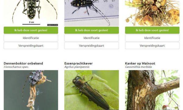 screenshot van de tool Beware&Note