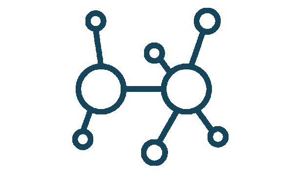 icon of a molecule
