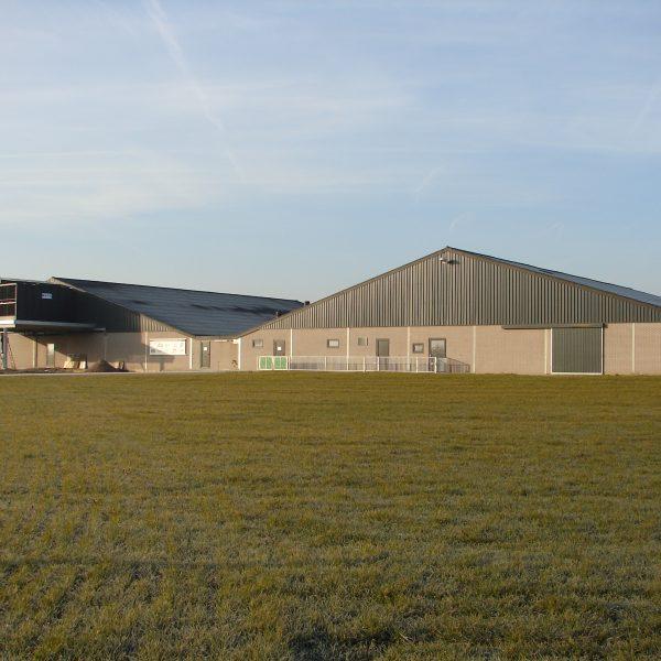 Een luchtwasser op een varkensstal, de ILVO Varkenscampus