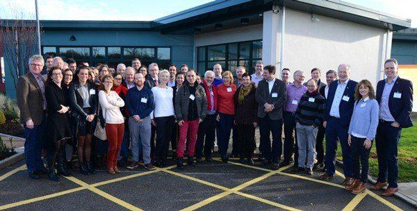 Groepsfoto met partners van het nieuwe Europese H2020 project FAIRshare