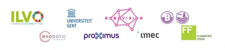 banner met partners van het 5G project