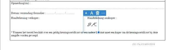 Aangifte digitaal_Handtekening invoegen