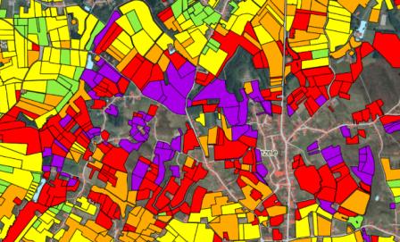 Potentiële bodemerosiekaart van Vlaanderen